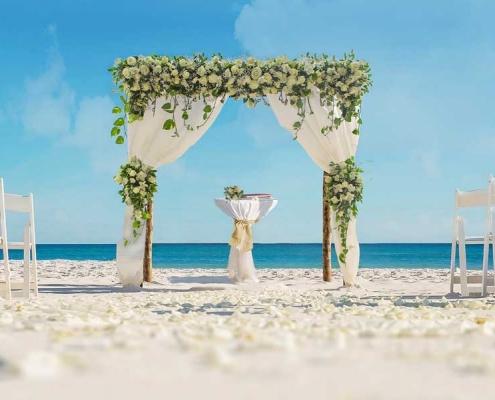 Elegance beach Wedding Package