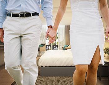 Hotel Room Wedding Package