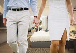 UAE expatriate Hotel Room Wedding