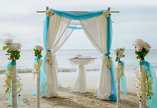 UAE expatriate Tropical Wedding Package