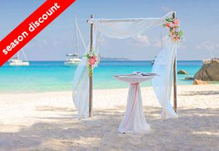 UAE expatriate Love Gate Wedding Package Discount