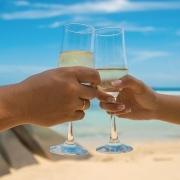 Filipino couple wedding toast