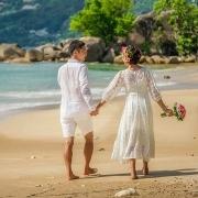 Wedding on Praslin