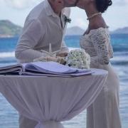 Seychelles Marriage Couple