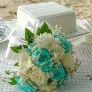 Wedding in Seychelels bouquet