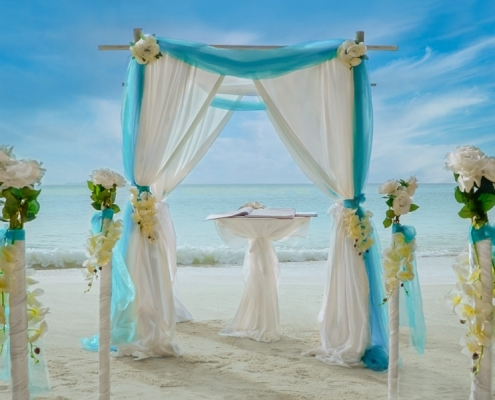 Exotic Beach wedding Package